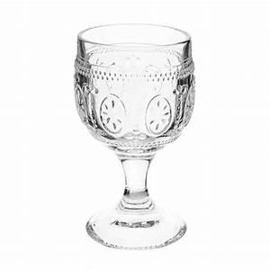 Verres à Vin Maison Du Monde : verre en verre floral maisons du monde ~ Teatrodelosmanantiales.com Idées de Décoration