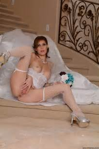 Naughty Brunette Fucks Hard After Her Wedding Photos