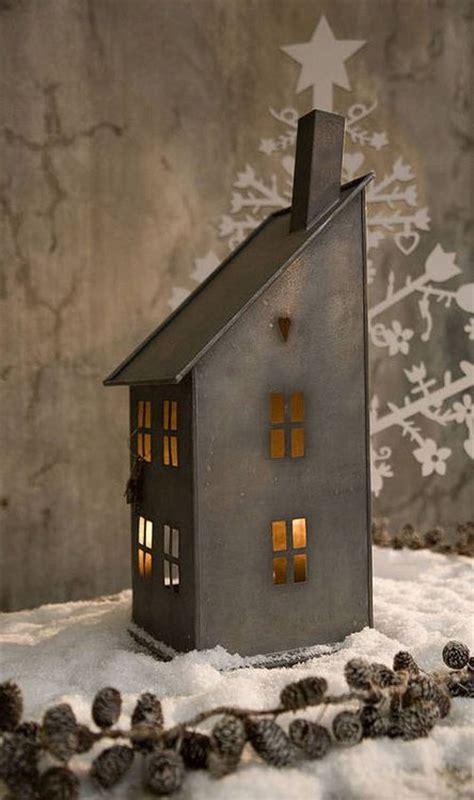 zinc houses images  pinterest christmas