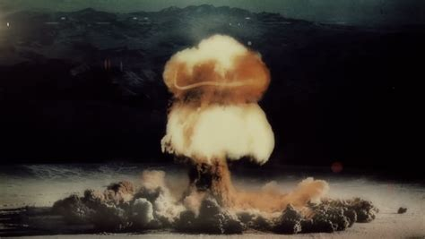 Mushroom Cloud Stock Footage Video Shutterstock