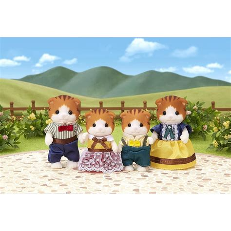 Sylvanian Families Cat Family by Sylvanian Families Maple Cat Family Jadrem Toys