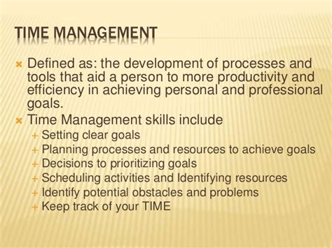 Strategies For Time Management And Stress