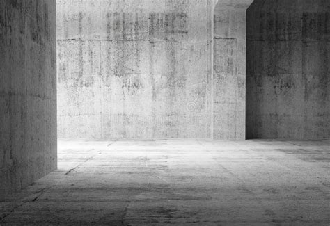 empty dark abstract concrete room interior royalty