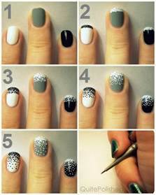 Step by nail art instructions with pictures and designs