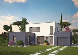 Maison Sans Toit : maison neuve avec piscine toit plat ~ Farleysfitness.com Idées de Décoration