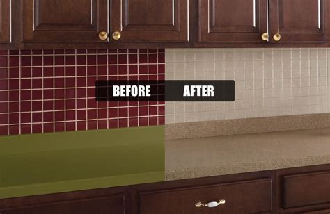 Rustoleum Cabinet Transformations Colors Before And After by Tile Transformations