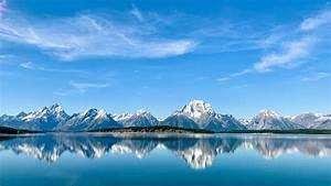 4k, Wallpaper, Grand, Teton, National, Park, Mountains, Lake