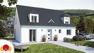 grande maison traditionnelle a petit prix With maison autoconstruction pas cher