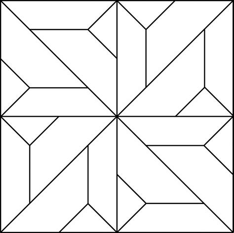 geometric block pattern  clipart  window film
