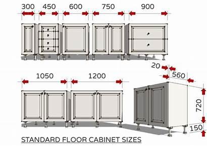 Standard Sizes Cabinet Kitchen Dimensions Floor Kitchens