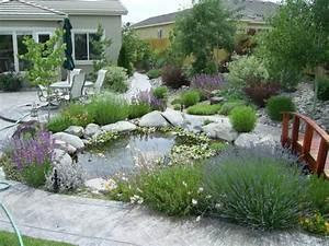 Gartengestaltung Sichtschutz Beispiele : gartengestaltung beispiele teich br cke holz ~ Lizthompson.info Haus und Dekorationen