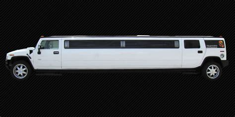 Diamond Flake White Stretched Hummer Limo