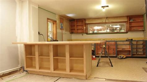 kitchen island cart with breakfast bar woodwork building a kitchen island with cabinets pdf plans