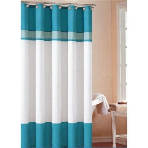 cheap layla shower curtain color turquoise sky on sale