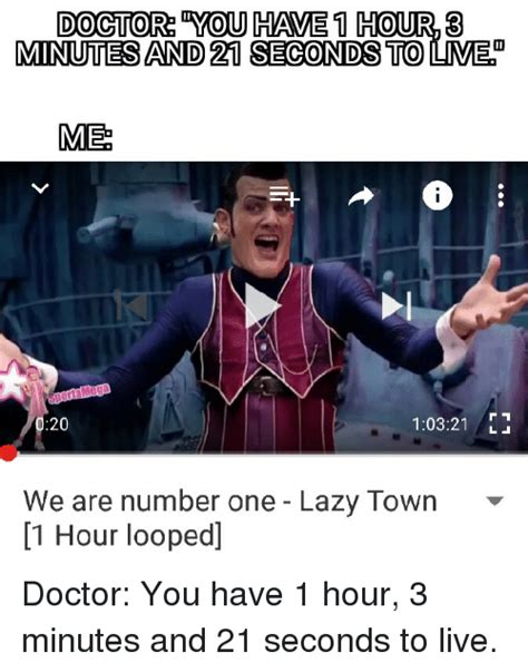 We Are Number One Memes - 25 best memes about we are number one lazy town we are number one lazy town memes