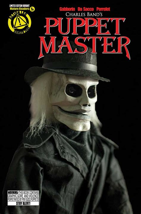 variant action lab reveals  covers  puppet master