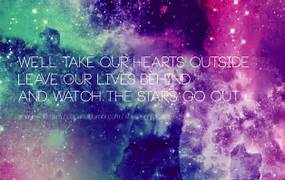 Galaxies Quotes  Iphon...Tumblr Wallpapers Galaxy Quotes