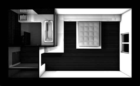 plan chambre hotel architectes com etude pour une chambre d 39 hotel