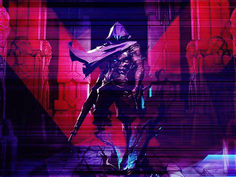desktop wallpaper omen valorant  game artwork hd