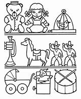 Toys Coloring Pages Toy Christmas Shopping Colouring Drawing Sheets Shelf Sheet Children Preschool Bestcoloringpagesforkids Printable Depict Major Attic Play Honkingdonkey sketch template