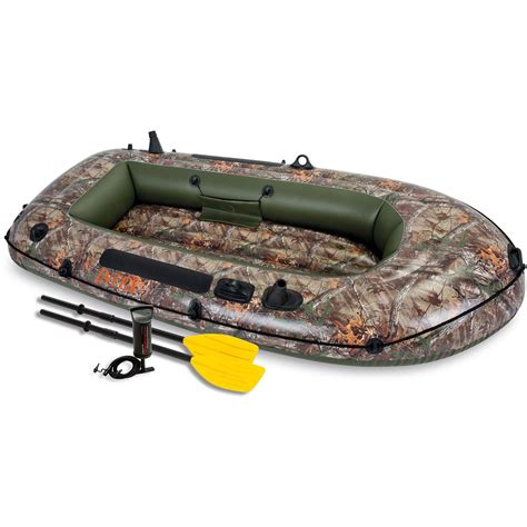 Inflatable Boat Dinghy Reviews by Inflatable Boat Intex Seahawk Realtree Fishing Boating