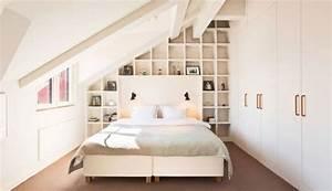 Schränke Für Kleine Schlafzimmer : schlafzimmer dachschr ge kleiner raum wei regalwand schr nke pinterest schlafzimmer ~ Bigdaddyawards.com Haus und Dekorationen