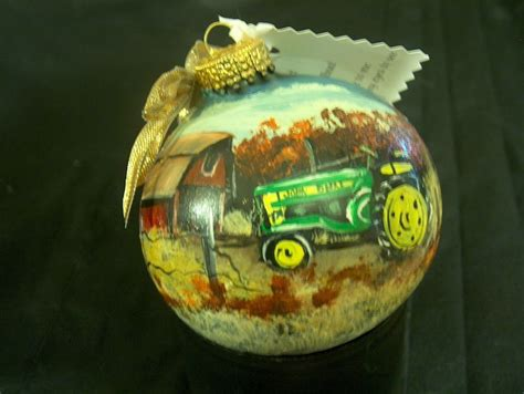 john deere ornament art from the hen house pinterest