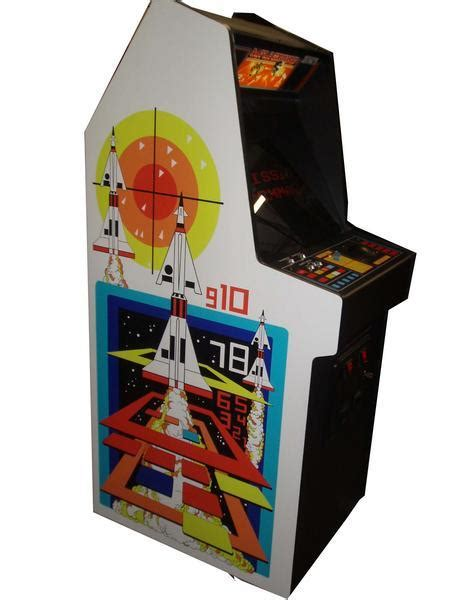 missile command arcade game restored
