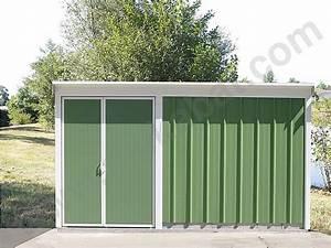 Abri De Jardin Metal 20m2 : cabane en tole pas cher abris de jardin 20m2 toit plat ~ Melissatoandfro.com Idées de Décoration