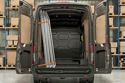 Transit Ford Dimensions Load Van Panel Area