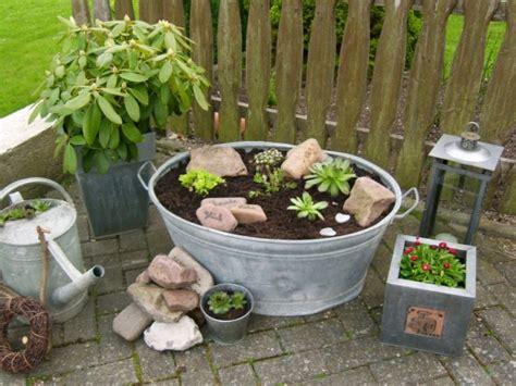 Garten 'zinkwanne Freu'  Meine Domizile Zimmerschau