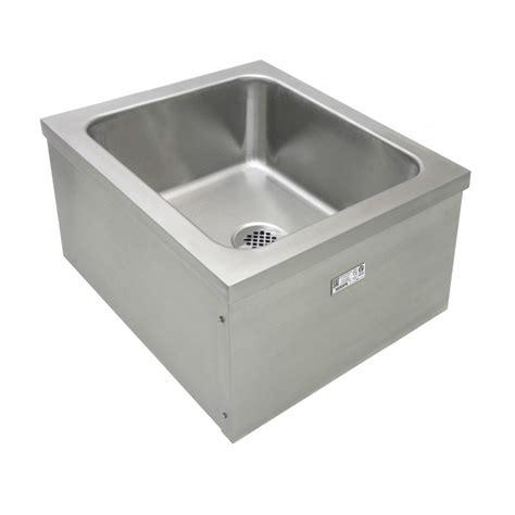 stainless steel mop sink stainless steel floor mount mop sinks gsw