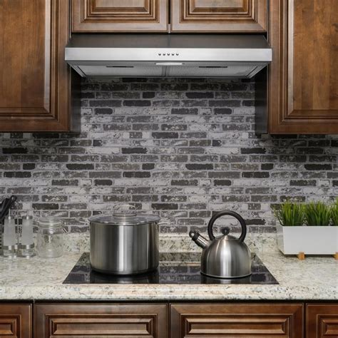 akdy    cfm convertible  cabinet range hood  brushed stainless steel  lighting