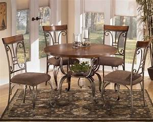 Kitchen chairs from ashley furniture cart dining table and for Furniture for kitchen diner