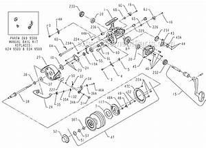 Penn 9500ss Parts List And Diagram   Ereplacementparts Com