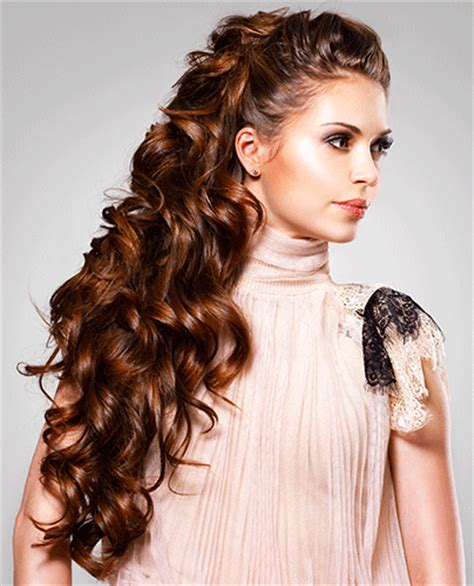 gorgeous  glamorous long curly hairstyles ohh