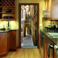 papier peint leroy merlin chambre sticker de porte trompe l 39 oeil pour une décoration