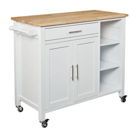 lowes kitchen island cabinet kitchen islands at lowes shop home styles 48 in l x 25 in w x 36 in h black kitchen shop home