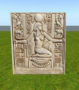 Second Life Marketplace - Ancient Egyptian Stone Wall ...