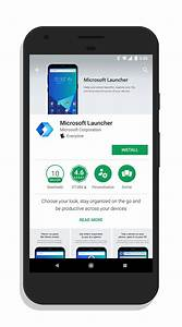 Microsoft Launcher in Google Play Store – ClintonFitch.com