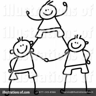 Teamwork Clipart Illustration Prawny Royalty Sample Rf
