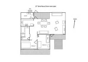 house layout house plan the garden house accommodation in mallacoota