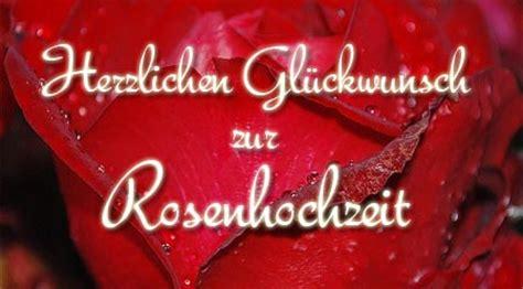 rosenhochzeit glueckwuensche