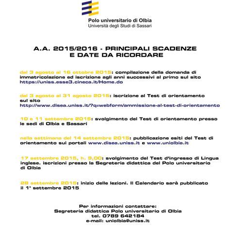 Test D Ingresso Scienze Turismo Corso Di Laurea In Economia E Management Turismo