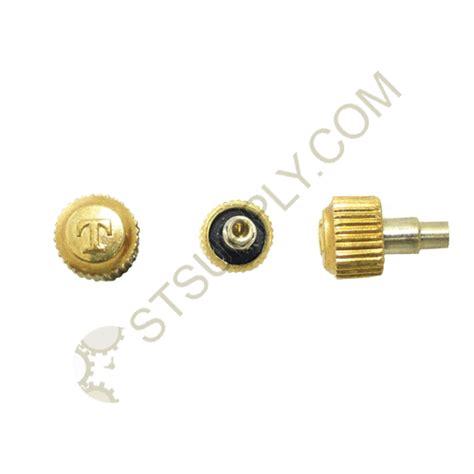 Tissot Style Yellow Crown Screwdown 35mm T10 St Supply