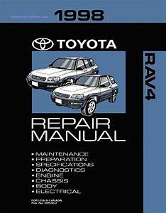 1998 Toyota Rav4 Oem Repair Manual