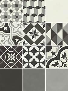 carreau de ciment belle epoque decor clara gris noir et With carreau ciment gris