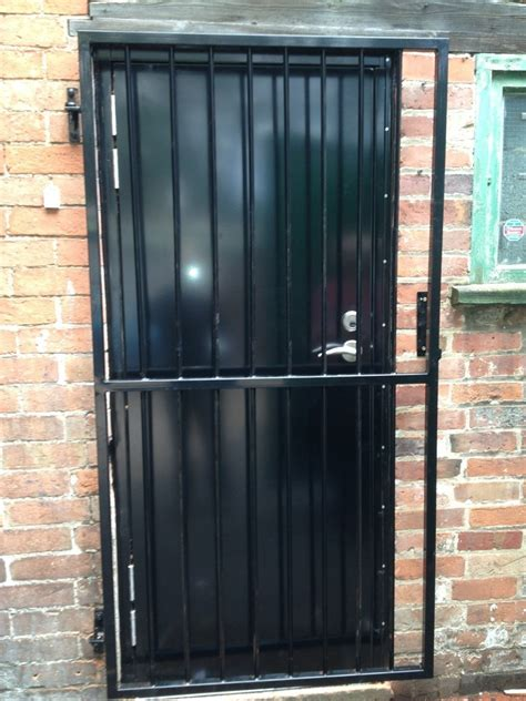 gate with door retractable security grilles sliding security grilles