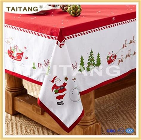 wholesale christmas table decorations party christmas tablecloth buy christmas tablecloth