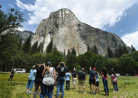 Yosemite Rock Slides Don Mean More Danger Kpcc